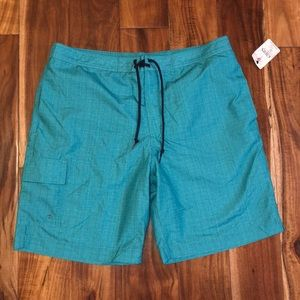 Chaps Green Swim Trunks XL